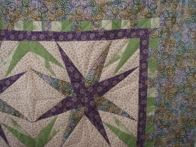 Close-up of Cindi's Block Quilt