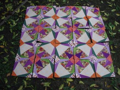 Orange Challenge Quilt