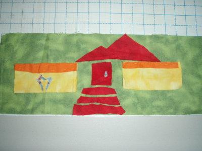 Ben's Landscape quilt