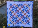 A Quilt for Asher- with daffodils
