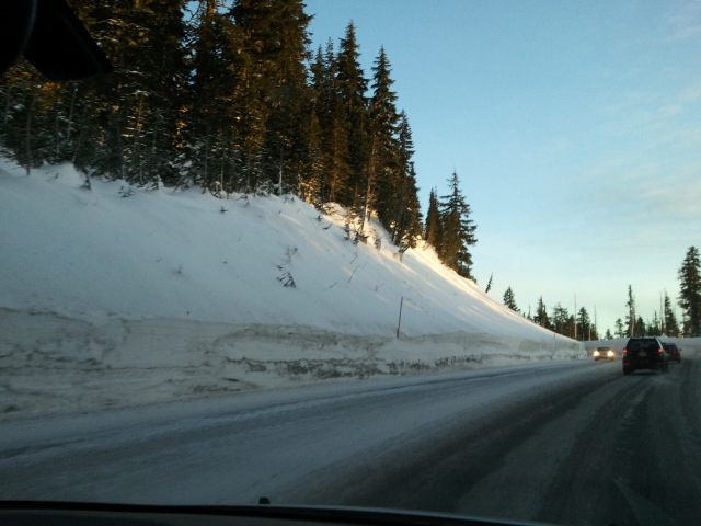 Mount Hood Drive up