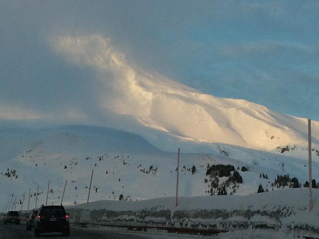 Mount Hood top of mountain