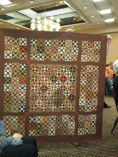One of Jo Morton's quilts