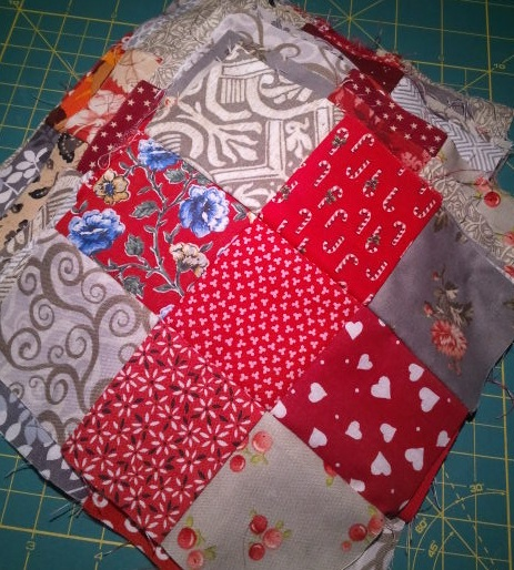 Nine Patch blocks for Talkin' Turkey