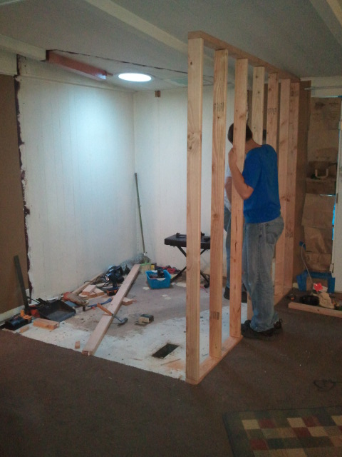 Framing first wall