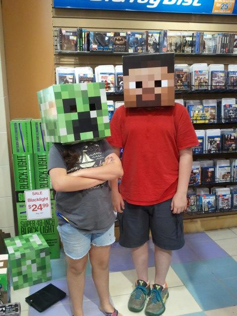 Ben minecraft mask