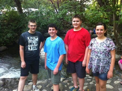 Ashland gang by creek