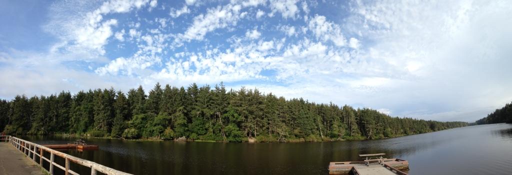 Panorama of Coffenbury Lake