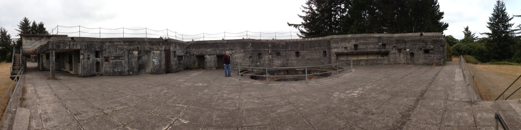 Panorama of Battery Russell