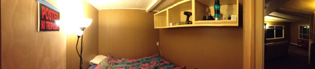 Completed bedroom