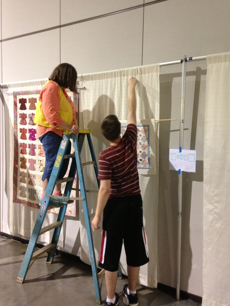 Dylan hanging quilts