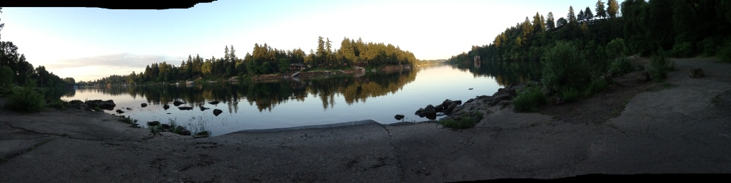 Willamette River at Oregon Iron Co