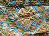 Close up of quilting on Celtic Solstice