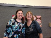 Bonnie and I at a Smith Mountain Morning Workshop