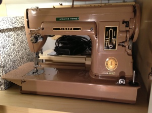Gertrude sewing machine
