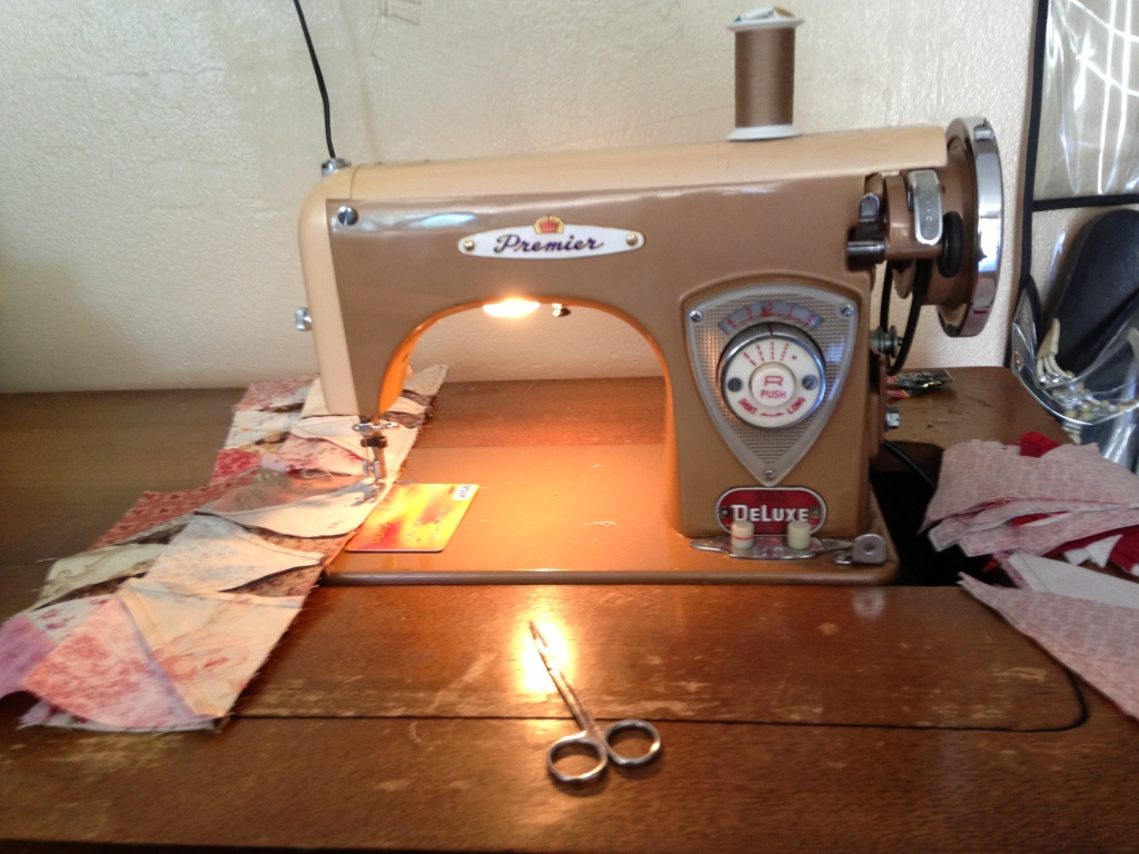 Mom's sewing machine
