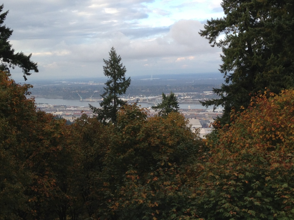 Pittock Mansion view