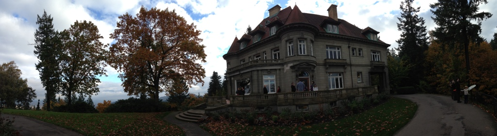 Pittock Mansion panorama
