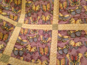 Butterfly donation quilt 2